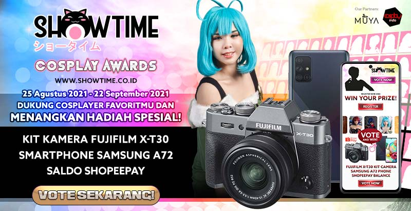 Showtime Cosplay Awards 2021 - Vote Now!